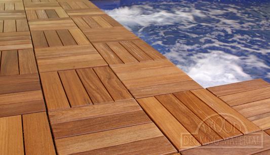 Wood Decking Material Decking Tiles