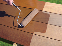 Apply Ipe Oil™ Hardwood Deck Finish